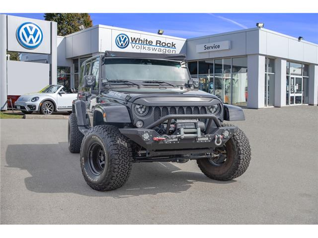 2018 Jeep Wrangler JK Unlimited Sahara (Stk: kj067315A) in Vancouver - Image 1 of 27