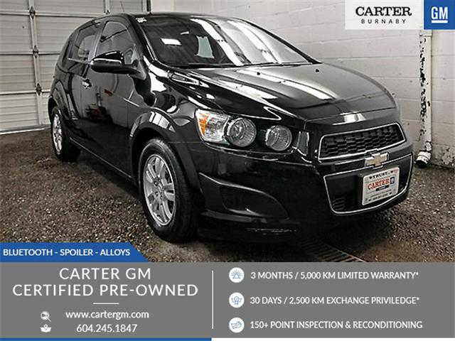 2012 Chevrolet Sonic LT (Stk: P9-58211) in Burnaby - Image 1 of 21