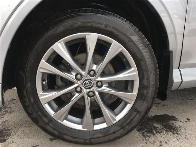 2017 Toyota RAV4 PLATINUM LEATHER, NAVI, POWER HATCH,SUNROOF, ALLOY (Stk: 44252A) in Brampton - Image 2 of 28