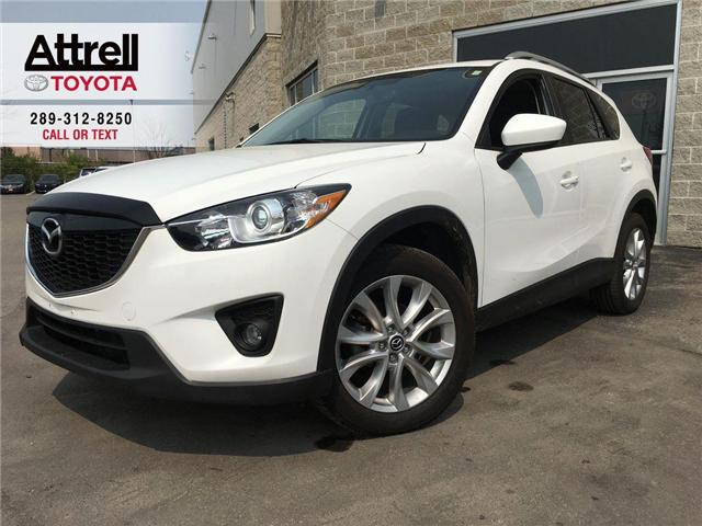 2015 Mazda CX-5 GT LEATHER, SUNROOF, ALLOYS, NAVI, FOG, PUSH BUTTO (Stk: 44495B) in Brampton - Image 1 of 28