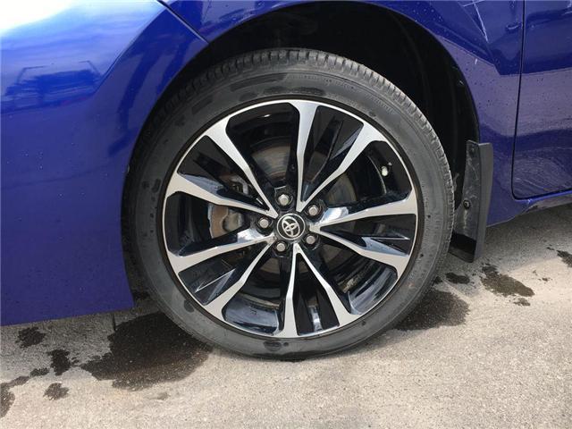 2018 Toyota Corolla SE UPGRADE PKG HEATED STEERING, ALLOYS, MOONROOF,  (Stk: 43821XA) in Brampton - Image 2 of 27