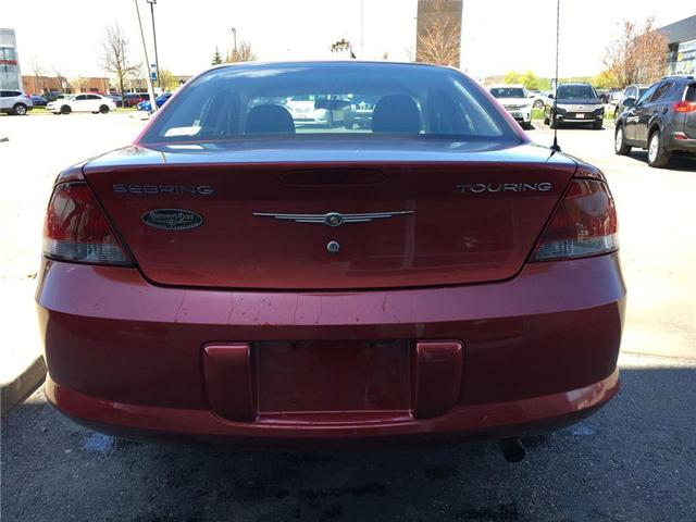 2006 Chrysler SEBRING SDN TOURING ALLOY WHEELS, FOG LAMPS, ABS, STEERING WHE (Stk: 44214A) in Brampton - Image 15 of 23
