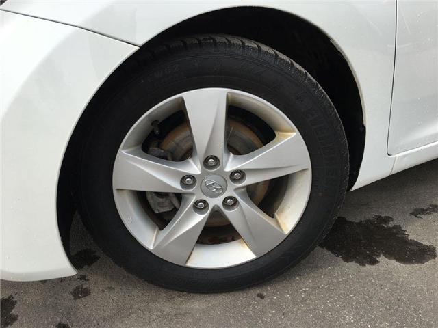2013 Hyundai Elantra GLS SUNROOF, ALLOY WHEELS, FOG LAMPS, TINT, ABS, S (Stk: 44241A) in Brampton - Image 2 of 25