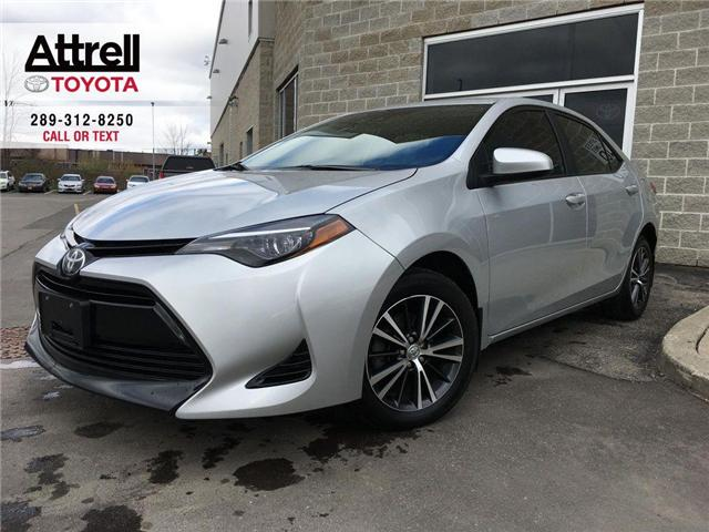 2018 Toyota Corolla LE UPGRADE PKG SUNROOF, ALLOY WHEELS, HEATED STEER (Stk: 44144A) in Brampton - Image 1 of 27