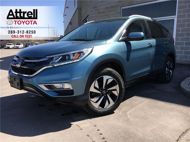 2015 Honda CR-V TOURING LEATHER, NAVIGATION, SUNROOF, ALLOYS, FOG, (Stk: 43897A) in Brampton - Image 1 of 28