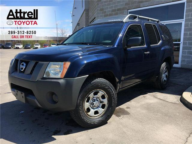 2008 Nissan XTERRA S 4X4 ROOF RACK, TINTED WINDOWS, ABS, POWER GROUP, (Stk: 44220A) in Brampton - Image 1 of 23