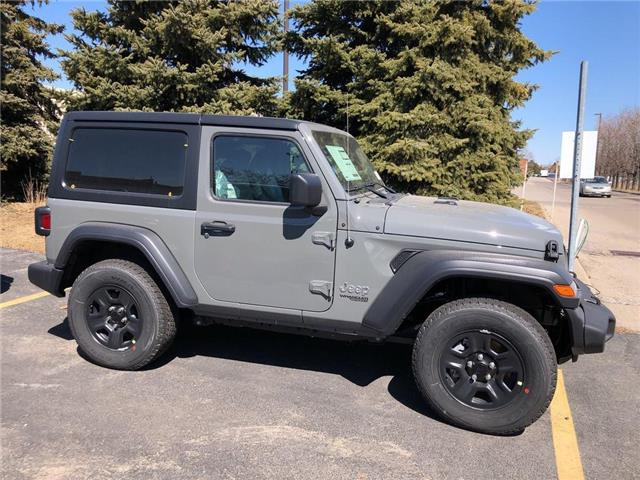 2019 Jeep Wrangler Sport (Stk: K613) in Burlington - Image 2 of 16
