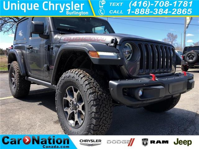 2019 Jeep Wrangler Rubicon (Stk: K522) in Burlington - Image 1 of 16