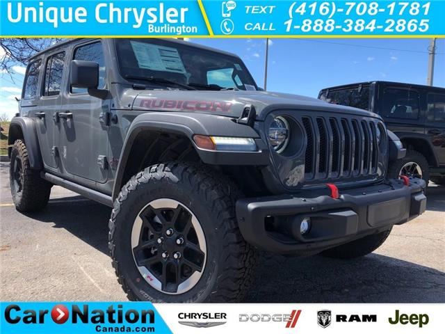 2019 Jeep Wrangler Unlimited Unlimited Rubicon (Stk: K633) in Burlington - Image 1 of 15