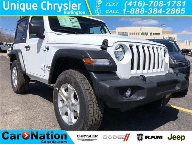 2019 Jeep Wrangler Sport S (Stk: 609714) in Burlington - Image 1 of 15