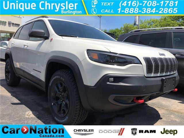 2019 Jeep Cherokee Trailhawk Elite (Stk: K853) in Burlington - Image 1 of 17