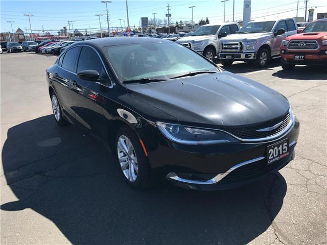 2015 Chrysler 200 Limited (Stk: 1809731) in Cambridge - Image 4 of 13