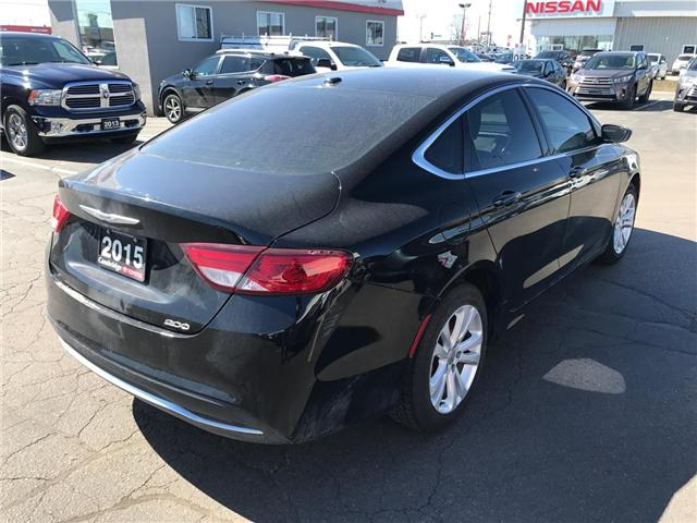 2015 Chrysler 200 Limited (Stk: 1809731) in Cambridge - Image 5 of 13