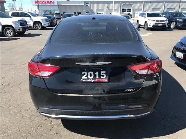 2015 Chrysler 200 Limited (Stk: 1809731) in Cambridge - Image 6 of 13