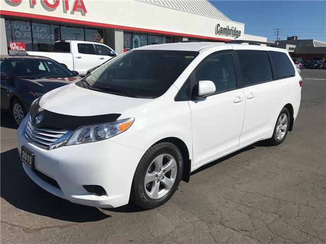 2015 Toyota Sienna  (Stk: 19030214) in Cambridge - Image 2 of 12