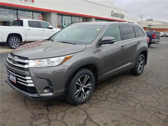 2018 Toyota Highlander LE (Stk: P0054830) in Cambridge - Image 2 of 14