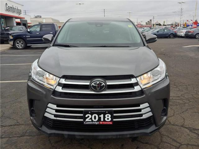 2018 Toyota Highlander LE (Stk: P0054830) in Cambridge - Image 3 of 14