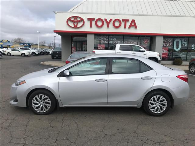 2018 Toyota Corolla  (Stk: P0054810) in Cambridge - Image 1 of 14