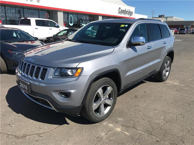 2016 Jeep Grand Cherokee Limited (Stk: 1803202) in Cambridge - Image 2 of 13