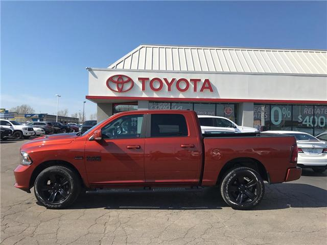 2017 RAM 1500 Sport (Stk: 1906971) in Cambridge - Image 1 of 13