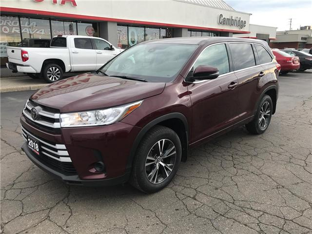 2018 Toyota Highlander LE (Stk: P0055030) in Cambridge - Image 2 of 14