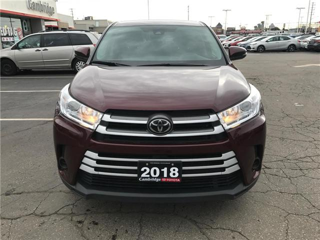 2018 Toyota Highlander LE (Stk: P0055030) in Cambridge - Image 3 of 14