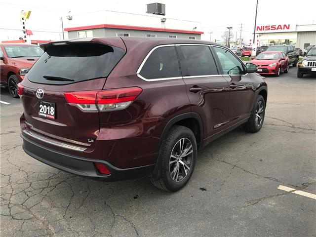 2018 Toyota Highlander LE (Stk: P0055030) in Cambridge - Image 6 of 14