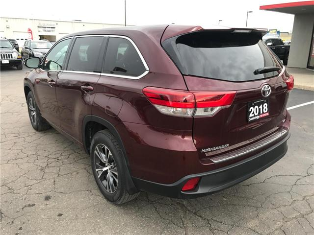 2018 Toyota Highlander LE (Stk: P0055030) in Cambridge - Image 8 of 14