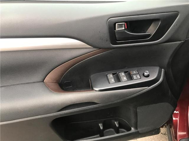 2018 Toyota Highlander LE (Stk: P0055030) in Cambridge - Image 11 of 14