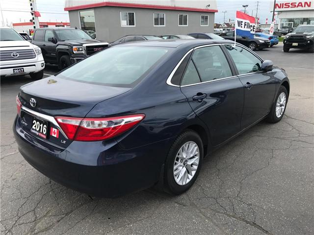 2016 Toyota Camry  (Stk: 1906901) in Cambridge - Image 5 of 13