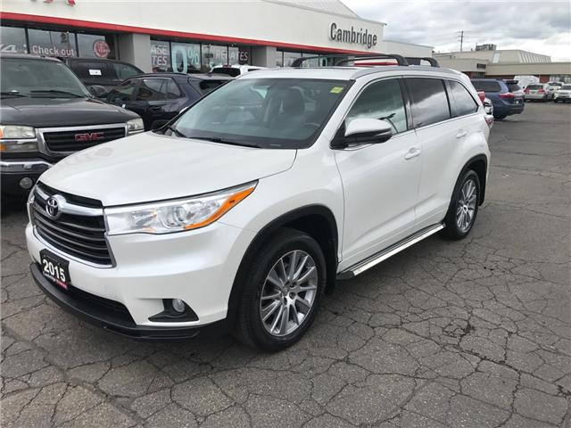 2015 Toyota Highlander  (Stk: 1901821) in Cambridge - Image 2 of 13