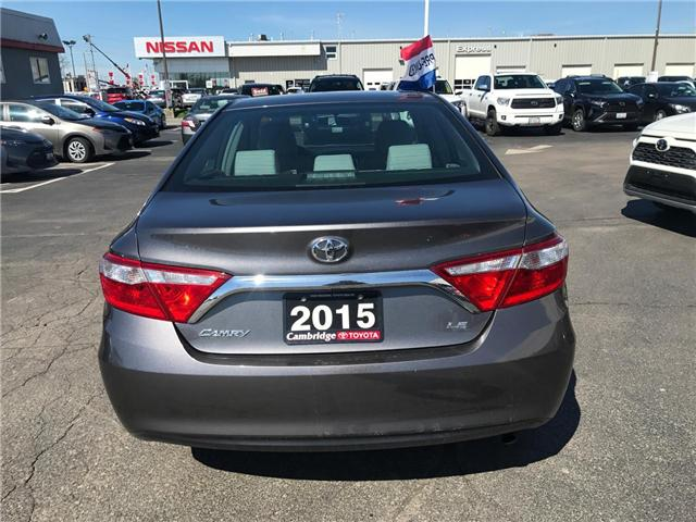 2015 Toyota Camry  (Stk: 1907801) in Cambridge - Image 7 of 14