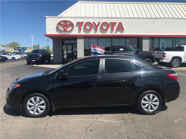 2014 Toyota Corolla  (Stk: P0054601) in Cambridge - Image 1 of 14