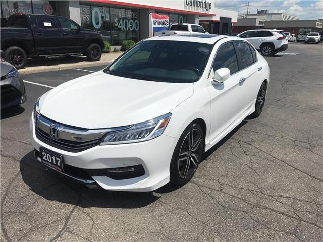 2017 Honda Accord Touring (Stk: 1907661) in Cambridge - Image 2 of 15