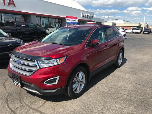 2016 Ford Edge SEL (Stk: 1903701) in Cambridge - Image 2 of 14
