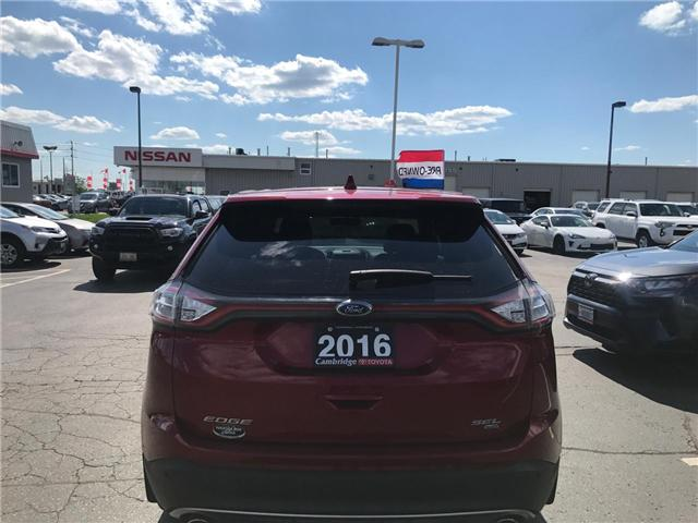 2016 Ford Edge SEL (Stk: 1903701) in Cambridge - Image 9 of 14