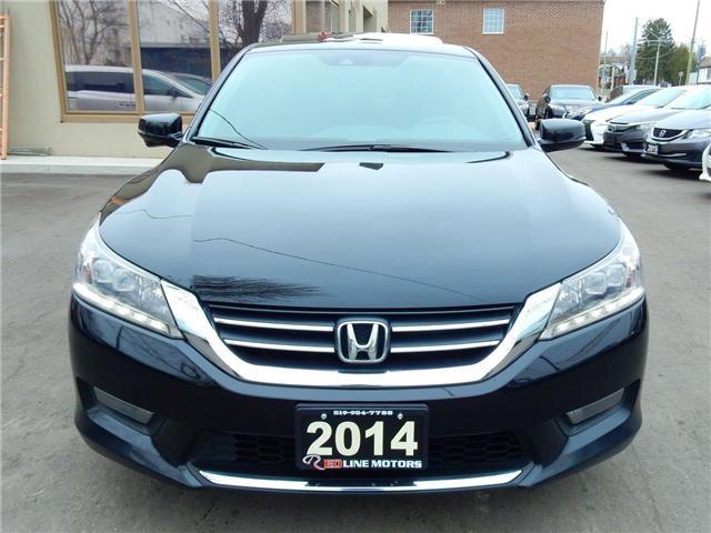 2014 Honda Accord Touring (Stk: 1HGCR2) in Kitchener - Image 2 of 29