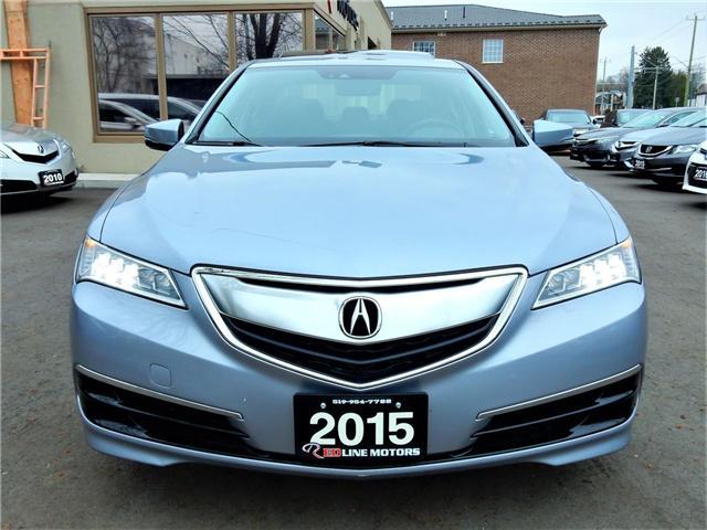 2015 Acura TLX V6 Tech (Stk: 19UUB2) in Kitchener - Image 2 of 27