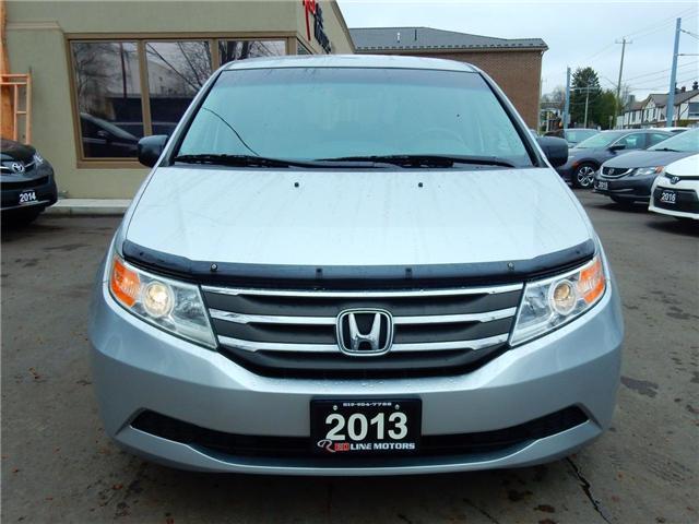 2013 Honda Odyssey EX (Stk: 5FNRL5) in Kitchener - Image 2 of 25