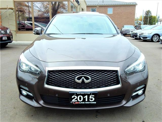2015 Infiniti Q50 Sport (Stk: JN1BV7) in Kitchener - Image 2 of 26