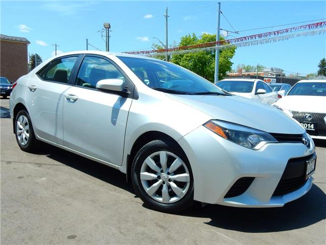 2014 Toyota Corolla LE (Stk: 2T1BUR) in Kitchener - Image 1 of 23