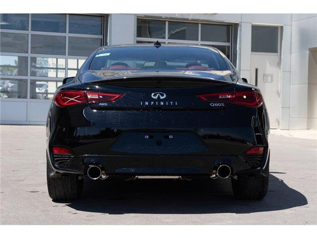 2019 Infiniti Q60 3.0t I-LINE RED SPORT (Stk: 60642) in Ajax - Image 5 of 27