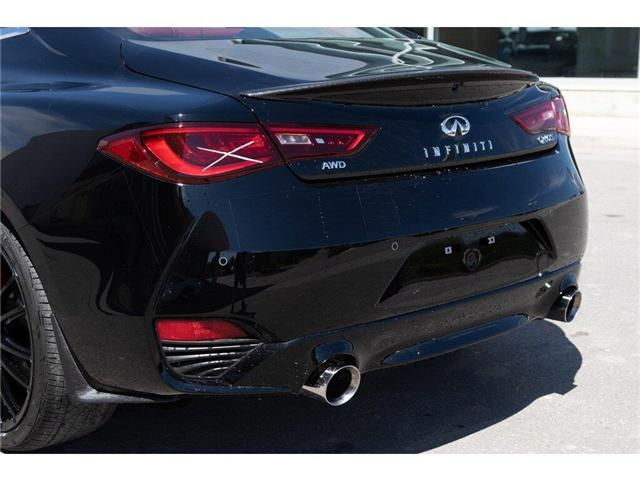 2019 Infiniti Q60 3.0t I-LINE RED SPORT (Stk: 60642) in Ajax - Image 9 of 27