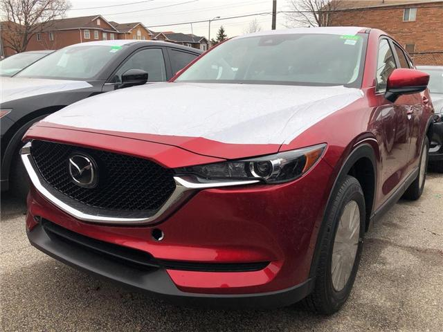2019 Mazda CX-5 GS (Stk: 19110) in Toronto - Image 1 of 5