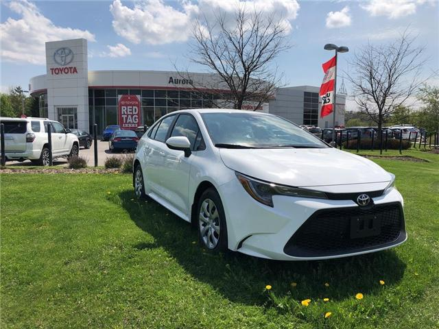 2020 Toyota Corolla LE (Stk: 30904) in Aurora - Image 1 of 15