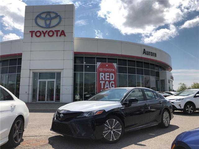 2019 Toyota Camry Hybrid SE (Stk: 30919) in Aurora - Image 1 of 15