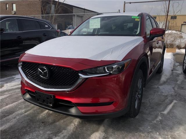 2019 Mazda CX-5 GS (Stk: N190199) in Markham - Image 1 of 5
