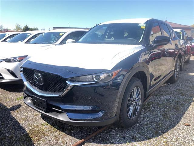 2019 Mazda CX-5 GS (Stk: N190470) in Markham - Image 1 of 5