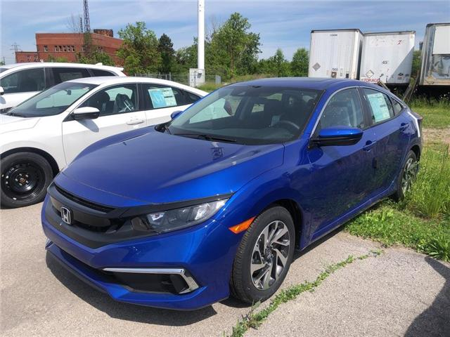 2019 Honda Civic EX (Stk: N5159) in Niagara Falls - Image 1 of 4