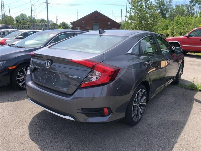 2019 Honda Civic Touring (Stk: N5164) in Niagara Falls - Image 4 of 5